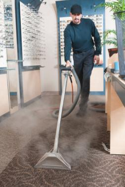 Commercial carpet cleaning in O Neals CA