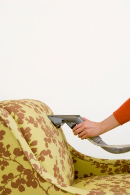 Upholstery cleaning in Caruthers, CA by Cleanup Man