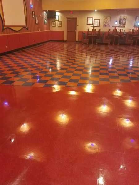 Floor Stripping & Waxing in Fresno, CA at John's Incredible Pizza Company (1)