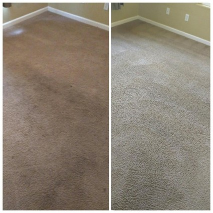 Before and After Carpet Cleaning in Fresno, CA